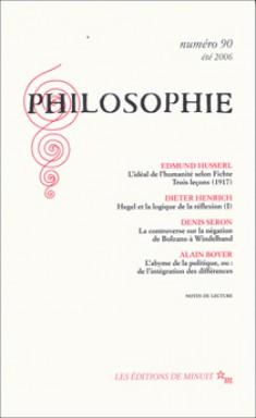 Philosophie Revue
